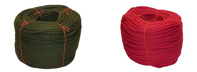 PolyCotton Dyed Rope