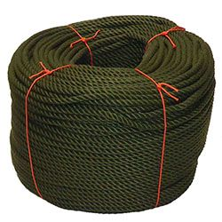 Olive Green PolyCotton Rope