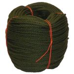 6mm Olive PolyCotton Rope - 220m coil